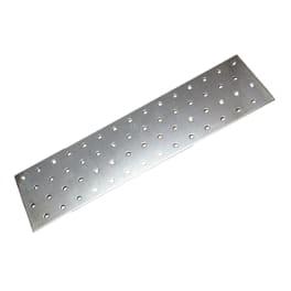 Lochplatten 60 x 140 x 2,0 mm verzinkt