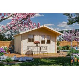 SKAN HOLZ Gartenhaus Malaga 1