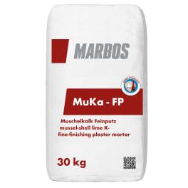Marbos Bremer Muschelkalk MuKa Feinputz - 30 kg