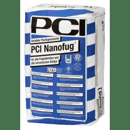 PCI Nanofug Fugenmörtel 15-kg-Sack Nr. 21 hellgrau