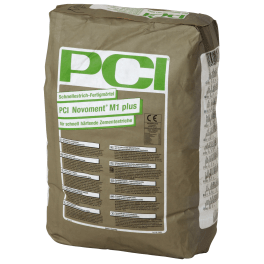 PCI Novoment M1 plus Schnellestrich-Fertigmörtel 25 kg Sack grau