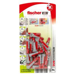 fischer DUOPOWER 6 x 30 (Verpackungseinheit: 5 Packungen)
