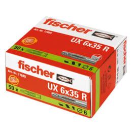 fischer Universaldübel UX 6x35 R (50 Stück)