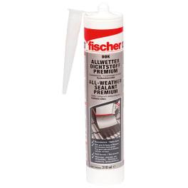 fischer Allwetter Dichtstoff DDK 310 transparent (12x 1 Stück)