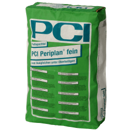 PCI Periplan Fein Fliessspachtel 25 kg Sack grau