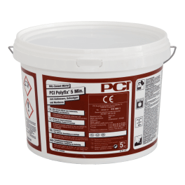 PCI Polyfix 5 Min. Blitz-Zement-Mörtel 5 kg Eimer grau