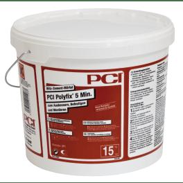 PCI Polyfix 5 Min. Blitz-Zement-Mörtel 15 kg Eimer grau