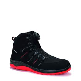 ELTEN MADDOX BOA® black-red Mid ESD S3 Sicherheitsstiefel