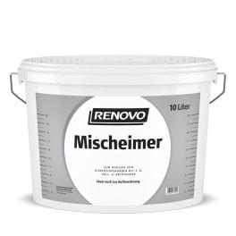 RENOVO Mischeimer 10,0L transparent