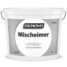 RENOVO Mischeimer 15,0L transparent