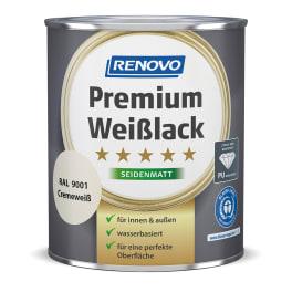 RENOVO Premium Weisslack seidenmatt