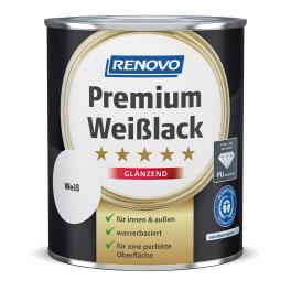 RENOVO Premium Weisslack glänzend weiss