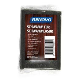 RENOVO Schwamm für Schwammlasur 1 Stück