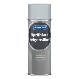 RENOVO Sprühlack Felgensilber 400ml