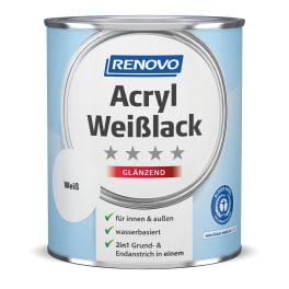 RENOVO Acryl Weisslack glänzend