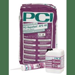 PCI Repafast APS 40 Reparaturmörtel 25.3-kg-Set Komponenten A/B/C