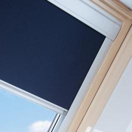 Verdunklungsrollo Dachfenster 66x118cm blau