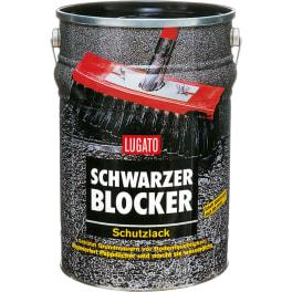 LUGATO SCHWARZER BLOCKER Schutzlack (1 x 10 kg)