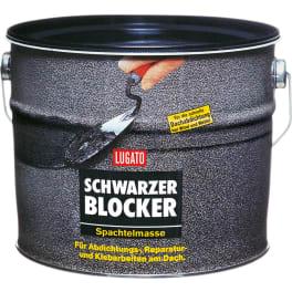 LUGATO SCHWARZER BLOCKER Bitumen-Spachtelmasse (1 x 5 kg)