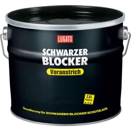 LUGATO SCHWARZER BLOCKER Voranstrich für Bitumen-Anstrich (1 x 2,5 l)