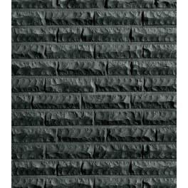 Röben Klinker QUEBEC schwarz-nuanciert, bossiert