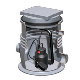 ACO Kleinhebeanlage Sinkamat-K Typ 50/2-K mono mit geschlossenem Wendedeckel