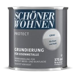 Schöner Wohnen Protect Lack Grundierung 375ml grau für Eisenmetalle