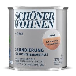Schöner Wohnen Home Lack Grundierung 375ml grau für Nichteisenmetalle