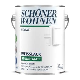 Schöner Wohnen Home Weisslack stumpfmatt weiss