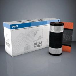 Dörken Delta Vent Roll Pro Firstrolle 310 schwarz