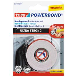 tesa® doppelseitiges Montageband ULTRA STRONG