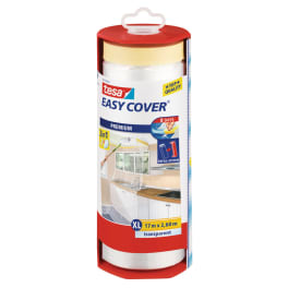 tesa Easy Cover® Premium XL Abdeckfolie im Abroller