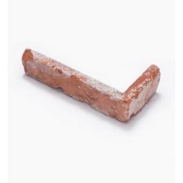 Seltra Vintage Verblender Loft Brick CHARME -Eckteil- REDBRICK VINTAGE ca. 24x11,5x5,5cm rot-braun