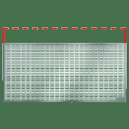 ACO Maschenrost 1340x450x20 mm, MW 30/10, begehbar, für Lichtschacht