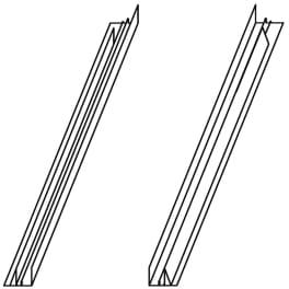 VELUX Verlängerungsteile/Zwischenrinne ETL