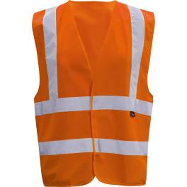 Triuso Warnschutzweste Gr. XL orange