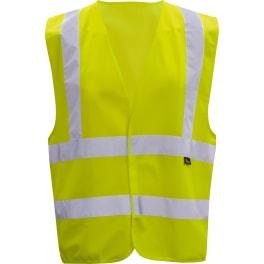 Triuso Warnschutzweste Gr.  XL gelb