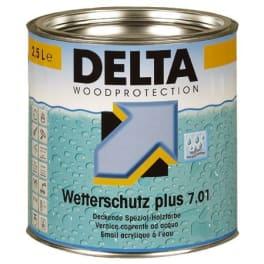 Dörken Delta Wetterschutz plus 7.01 1089T dunkelbraun - 2,5 Liter