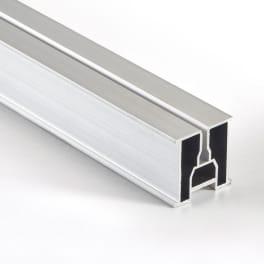 NATURinFORM Basisprofil aus Aluminium 4 m x 39 mm x 39 mm - 1 Stück