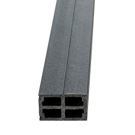NATURinFORM Basisprofil 4 m x 60 mm x 40 mm - 1 Stück
