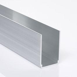 NATURinFORM Alu-Tragprofilverbinder 74  x 50 mm - 1 Stück