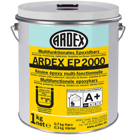 ARDEX EP 2000 Multifunktionales Epoxidharz, Dose m.Deckeleinheit: 1,0 kg 1045208