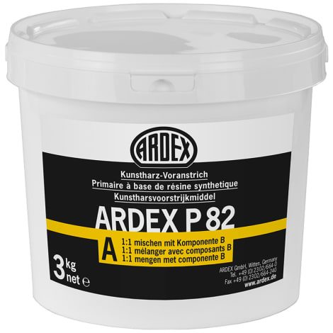 ARDEX P 82 Kunstharz-Voranstrich, 3 kg Komp.A+ 3 kg Komp.B = 6 kg (VE = 2 Einh.) 1045207