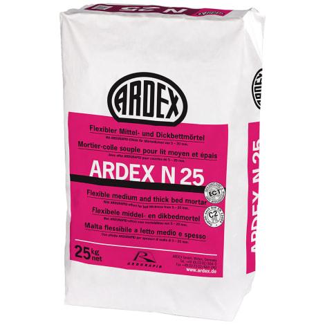 ARDEX N 23 W, MICROTEC Naturstein- und Fliesenkleber, weiss 25 kg Papiersack 1045195