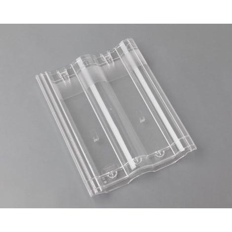 Braas Frankfurter Pfanne Lichtpfanne, transparent 1105910