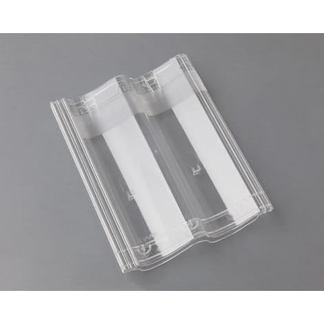 Braas Doppel-S Pfanne Lichtpfanne, transparent 1105912