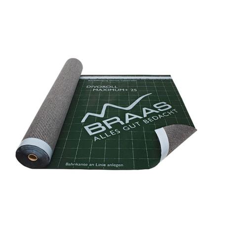 Braas Divoroll Maximum+ 2S 50x1,50m UDB-B,USB-A mit  Doppel-Klebezone 1105859