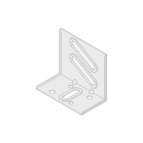 Anschlusswinkel für UA 100 / 125 mm (Set) 1065233