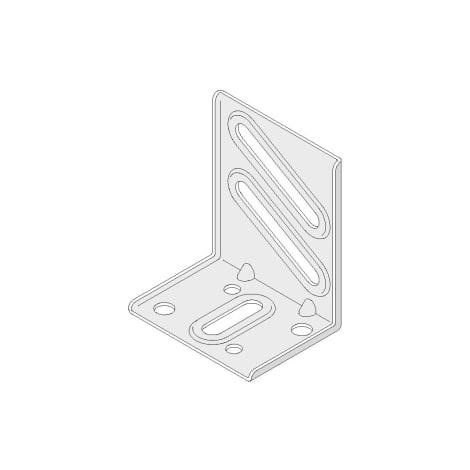 Anschlusswinkel für UA 75 / 100 mm (Set) 1065232