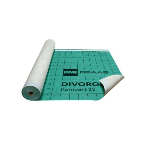 Braas Divoroll Kompakt 2S 50x1,50m UDB-A,USB-A mit Doppel-Klebezone-2018 1105861